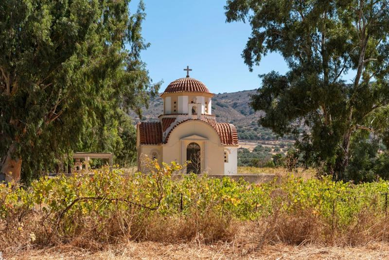 One of Crete's countless churches - getty