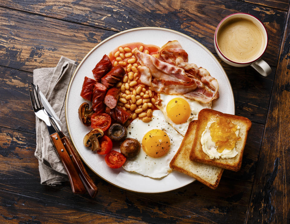 The 19-piece breakfast is available for £5. [Photo: Getty]
