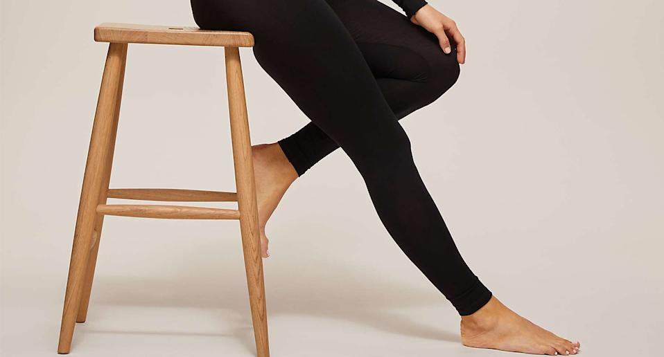 These affordable thermal leggings are perfect for the winter months. (John Lewis & Partners)