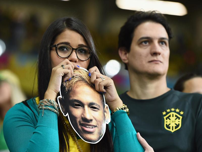 Brazil fans were the subject of the study by the University of Bath: Getty