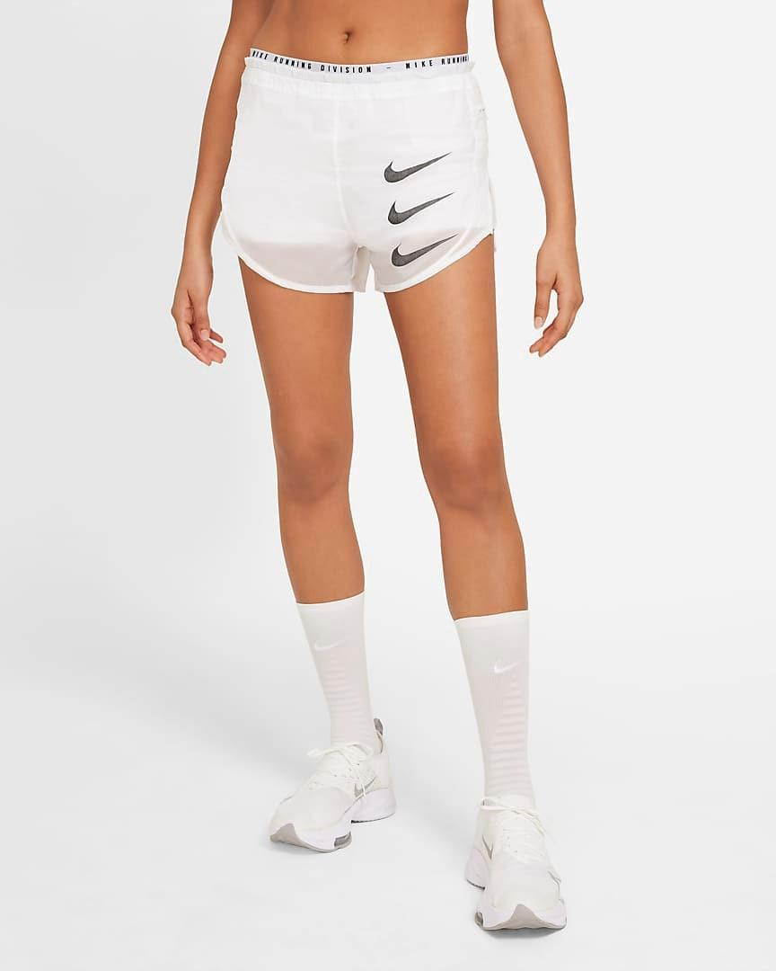 """""""I also love the luxe version of Nike's Tempo shorts. They're ultra lightweight, the outer layer is water-repellent, and the inner layer is super smooth on the skin. Plus, they're comfortable and stylish—I'll wear them for an entire day, even on a night run (the reflective elements are perfect for that)."""" - <em>U.L.</em> $50, Nike. <a href=""""https://www.nike.com/t/tempo-luxe-run-division-womens-2-in-1-running-shorts-vv2ZVk/DA1280-100"""" rel=""""nofollow noopener"""" target=""""_blank"""" data-ylk=""""slk:Get it now!"""" class=""""link rapid-noclick-resp"""">Get it now!</a>"""