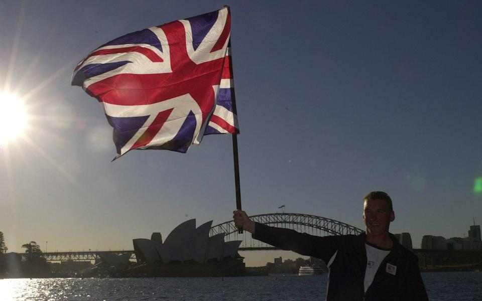 Sydney.Australia Pic Russell Cheyne -Daily Telegraph Sydney Harbour Bridge, Matthew Pinsent picked as flag bearer for the Games opening ceremony on friday - RUSSELL CHEYNE