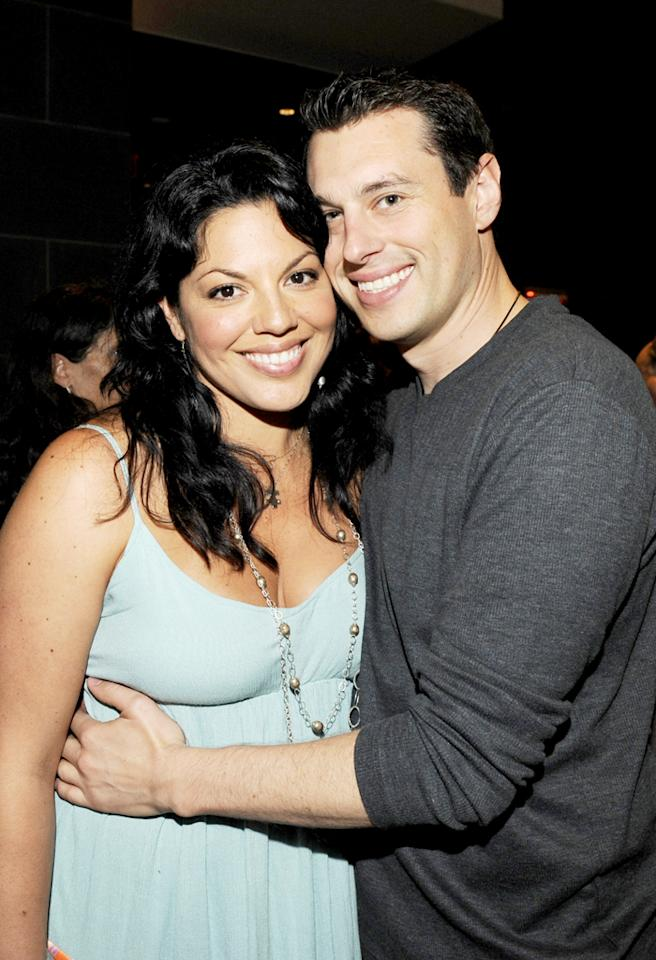 "Actress Sara Ramirez (L) attends ""Daddy Long Legs"" at The Broad Stage on June 17, 2010 in Santa Monica, California."