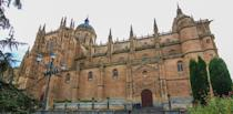 <p>Founded in 1134, the school is the oldest university in Spain and the third oldest university in the world. The historic town is located west of Spain, between Castilla and León. Although modern renovations have occurred since, the majority of structures still mirror the 2,000-year-old style of Salmantica. </p>
