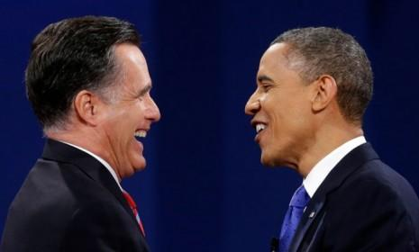 Great minds think alike? Mitt Romney and President Obama seemed to agree on an awful lot of foreign policy issues in their final debate.