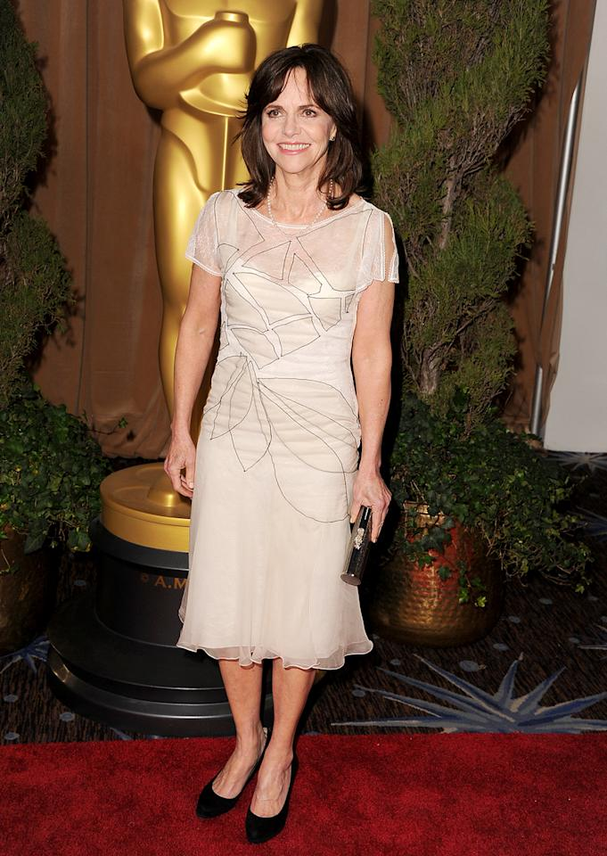 Sally Field attends the 85th Academy Awards Nominees Luncheon at The Beverly Hilton Hotel on February 4, 2013 in Beverly Hills, California.  (Photo by Steve Granitz/WireImage)