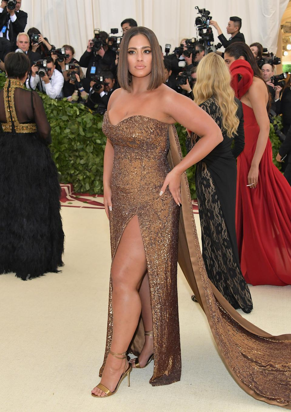 """<h1 class=""""title"""">Ashley Graham in Prabal Gurung and Tasaki jewelry</h1><cite class=""""credit"""">Photo: Getty Images</cite>"""