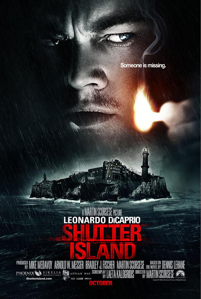 """<a href=""""http://movies.yahoo.com/movie/contributor/1800020898"""">Leonardo DiCaprio</a> stars in Paramount Pictures' <a href=""""http://movies.yahoo.com/movie/1809998389/info"""">Shutter Island</a> - 2009"""
