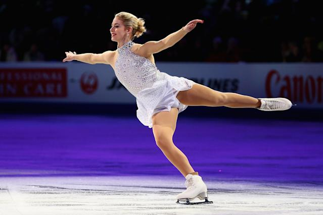 Gracie Gold has joined a coaching staff in Scottsdale, Arizona. (Getty)