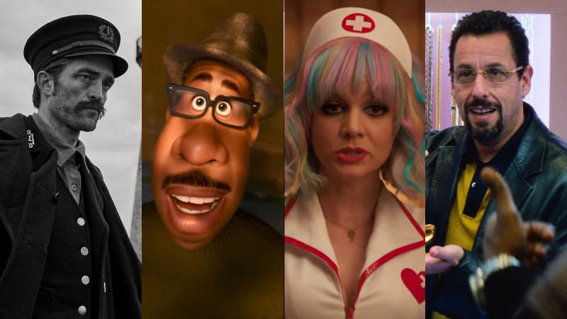 2020 is set to deliver some compelling original movies. (Credit: Universal/Pixar/Netflix)