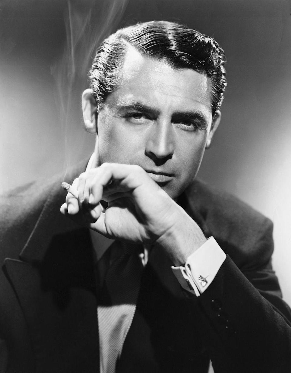 """<p>Although the film star's stage name was plastered all over the world, he was still legally Archie Leach. In 1941, he shed his given name and legally adopted Cary Grant. He's famously <a href=""""https://www.brainyquote.com/quotes/cary_grant_122685"""" rel=""""nofollow noopener"""" target=""""_blank"""" data-ylk=""""slk:known for saying"""" class=""""link rapid-noclick-resp"""">known for saying</a>, """"Everyone wants to be Cary Grant. Even I want to be Cary Grant.""""</p>"""
