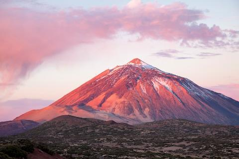 Tenerife's Teide National Park - Credit: GETTY