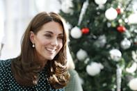 <p>At the end of 2018, Middleton's cut featured lots of long layers that started at her collarbone. The choppy cut added even more volume to the duchess's already thick hair, and made it easier for the ends to bend in nicely inwards - framing her heart-shaped face beautifully. </p>