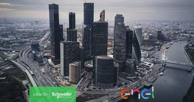 Enel and Schneider Electric Join the World Economic Forum in Launching the Toolbox of Solutions for Urban Transformation: 200+ Decarbonization Solutions for Cities (CNW Group/Schneider Electric Canada Inc.)