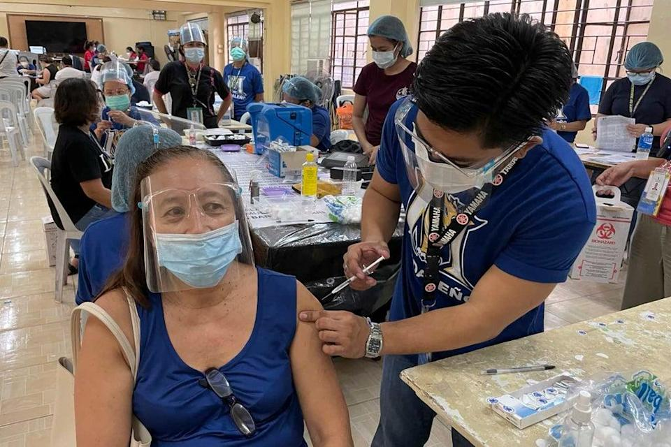 Virus Outbreak Philippines (Copyright 2021 The Associated Press. All rights reserved.)