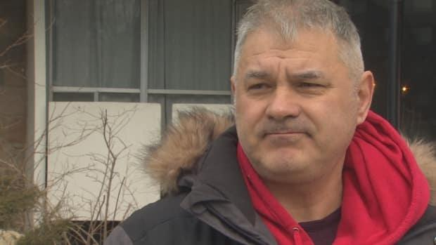 Iulian Stanciu, a resident, says: 'I think they are using it an justification not to do their job. To me, It's a unilateral decision. They didn't consult or give us an opportunity to talk about it. They just said: 'We're done.''