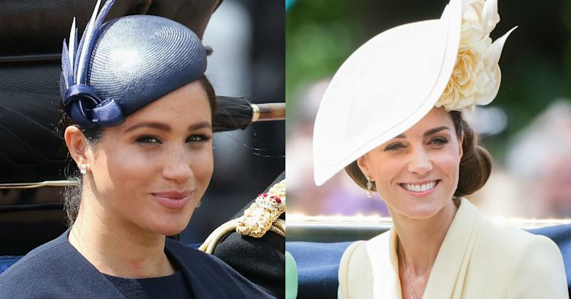 Meghan Markle and Kate Middleton's Trooping the Colour