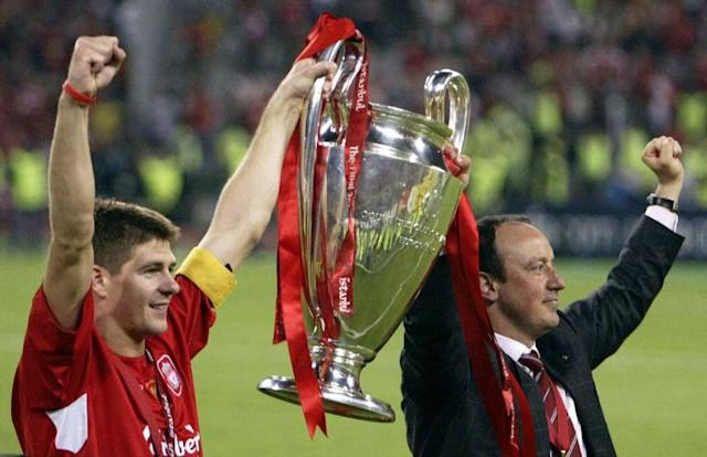 Liverpool fought back from 3-0 down to win their fifth European Cup (AFP Photo/MUSTAFA OZER)