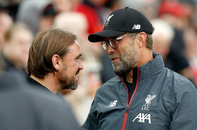 Farke will come up against fellow German Jurgen Klopp when Liverpool visit Carrow Road on Tuesday.
