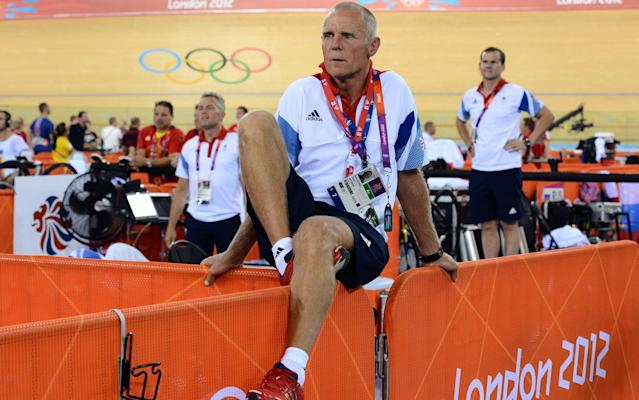 <span>Shane Sutton was forced out as British Cycling's technical director</span> <span>Credit: AFP </span>