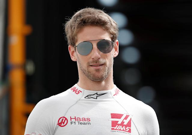 Motoracing - Formula One F1 - Monaco Grand Prix - Circuit de Monaco, Monte Carlo, Monaco - May 24, 2018 Haas' Romain Grosjean before practice REUTERS/Benoit Tessier