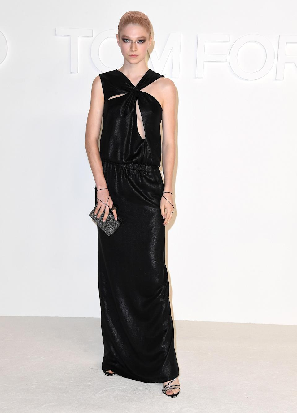 in Tom Ford at the designer's Los Angeles show, 2020