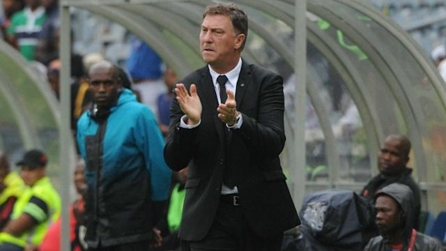 The Bucs coach lauded the Brazilians defence and attack following their second successive PSL defeat this week