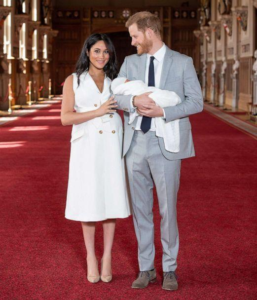 How Prince Harry And Meghan's Baby Debut Broke Tradition