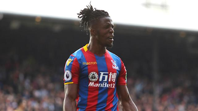 Crystal Palace have tied down key winger Wilfried Zaha for the next five seasons.