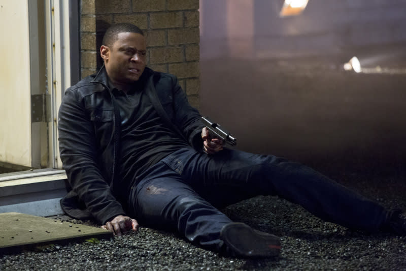 """Sacrifice"" -- David Ramsey as John Diggle"