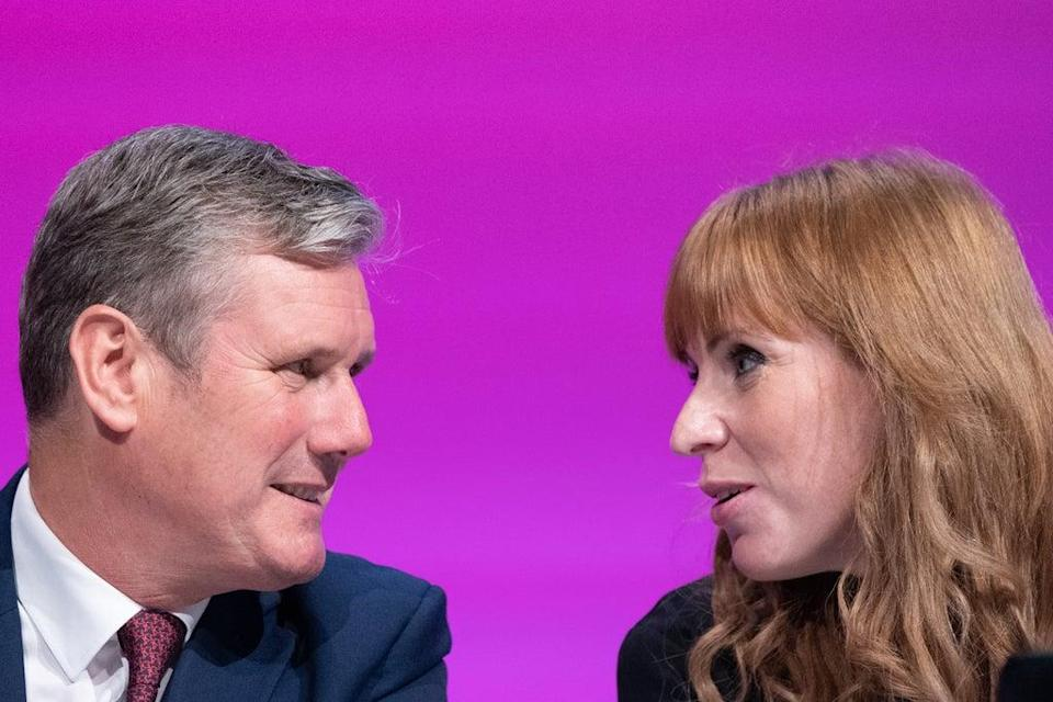 Labour Party leader Sir Keir Starmer and deputy leader Angela Rayner (Stefan Rousseau/PA) (PA Wire)