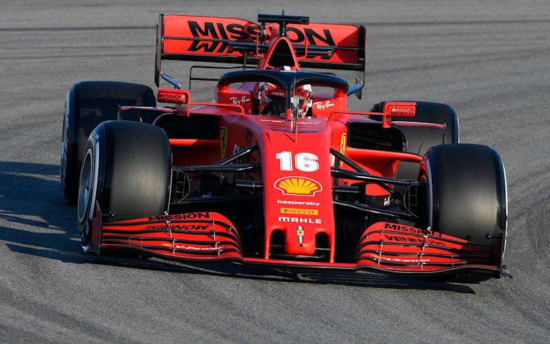 Charles Leclerc of Monaco driving the (16) Scuderia Ferrariuring day one of Formula 1 Winter Testing at Circuit de Barcelona-Catalunya on February 19, 2020 - Rudy Carezzevoli/Getty Images