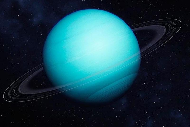 Uranus' Weird, Tilted Orbit May Have Been Caused by Collision with Icy Dwarf Planet