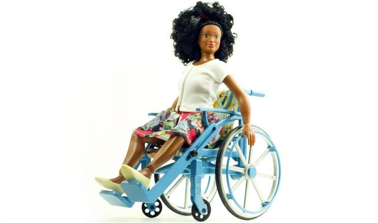 A Lammily doll in a prototype of the new wheelchair toy. (Photo: Nickolay Lamm)