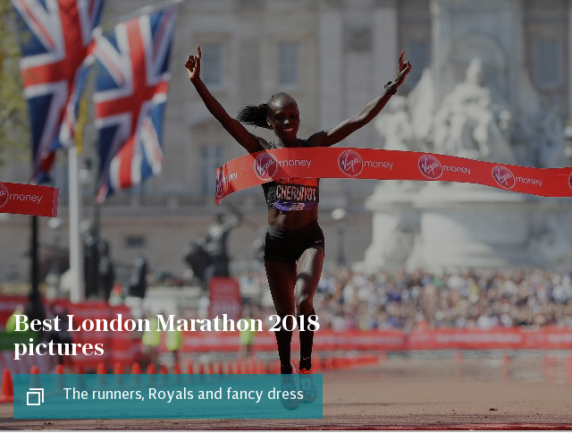 Best London Marathon 2018 pictures: The runners, Royals and fancy dress