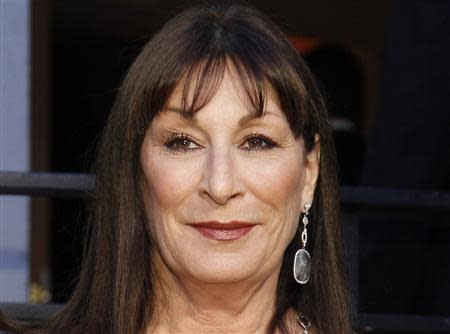 Angelica Huston arrives at the 2010 Vanity Fair Oscar party in West Hollywood