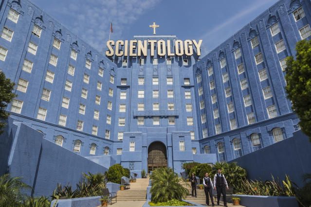 The Church of Scientology Building on Sunset Boulevard in Los Angeles. (Photo: Getty Images).