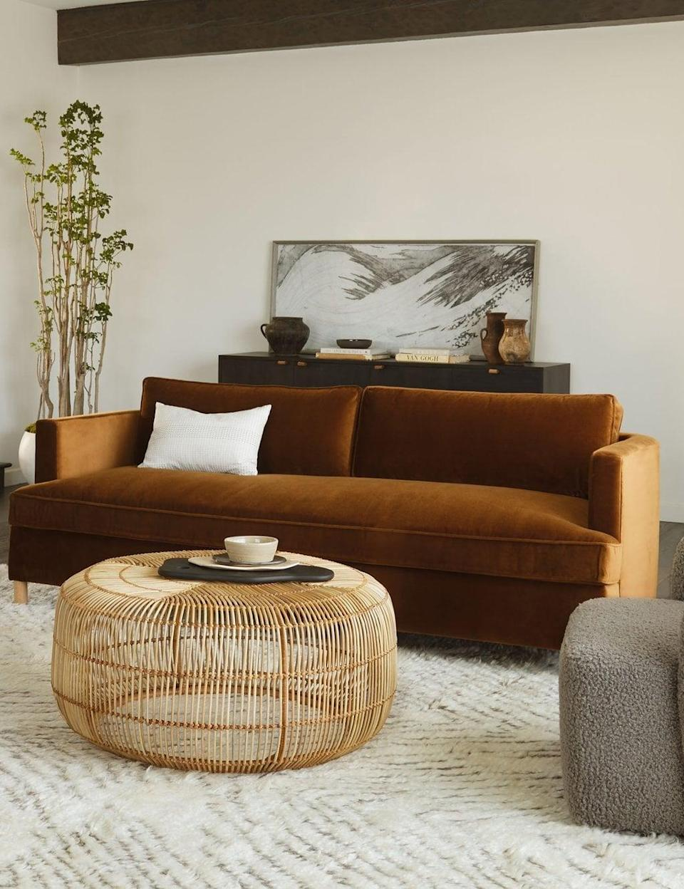<p><span>Lulu and Georgia Belmont Sofa</span> ($2,798, plus 20 percent off with code LABORDAY20)</p>