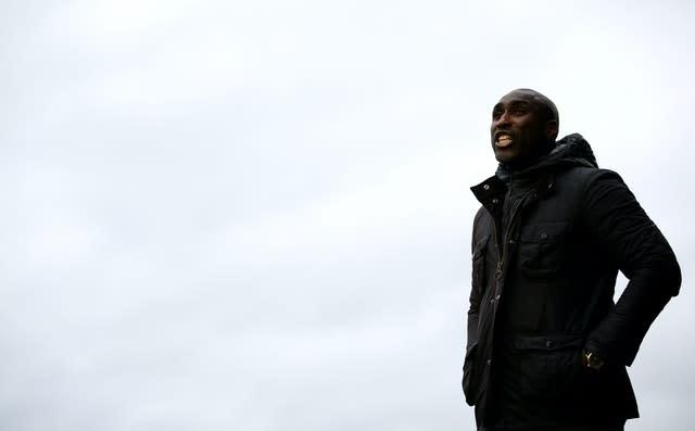 Sol Campbell had been in charge at Roots Hall since October (Steven Paston/PA)