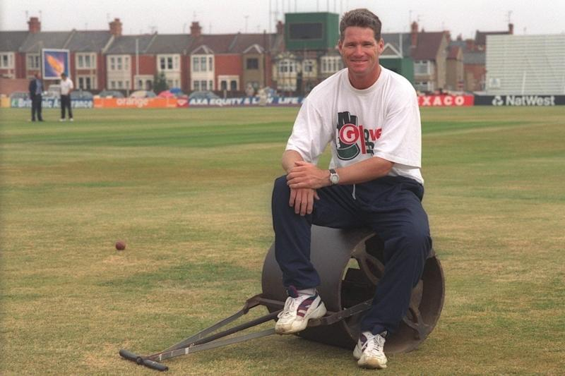 Jones during his time as captain of Derbyshire - Phil Shephard-Lewis