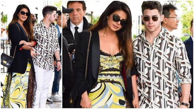 Cannes 2019: Priyanka Chopra and Nick Jonas Continue to Make Heads Turn at the French Riviera