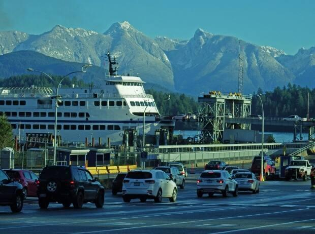 BC Ferries says it will not proceed with a trial to change the way it sails between Horseshoe Bay and the Langdale Ferry Terminal. (John Farrer - image credit)