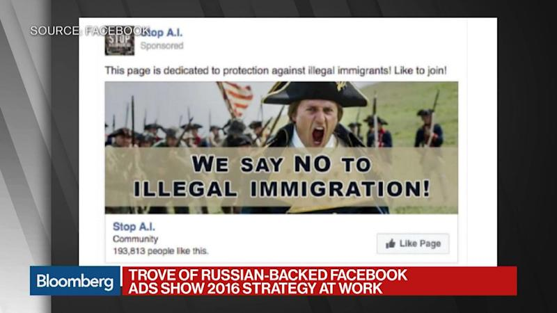 Russian-Backed Facebook Ads Show 2016 Election Strategy