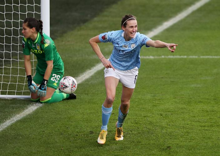 Jill Scott is bidding to enhance her Olympic selection chances at Everton. Credit: REUTERS/Molly Darlington