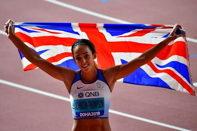 Britain's Katarina Johnson-Thompson said her training and competition schedule had been seriously disrupted (AFP Photo/Giuseppe CACACE)