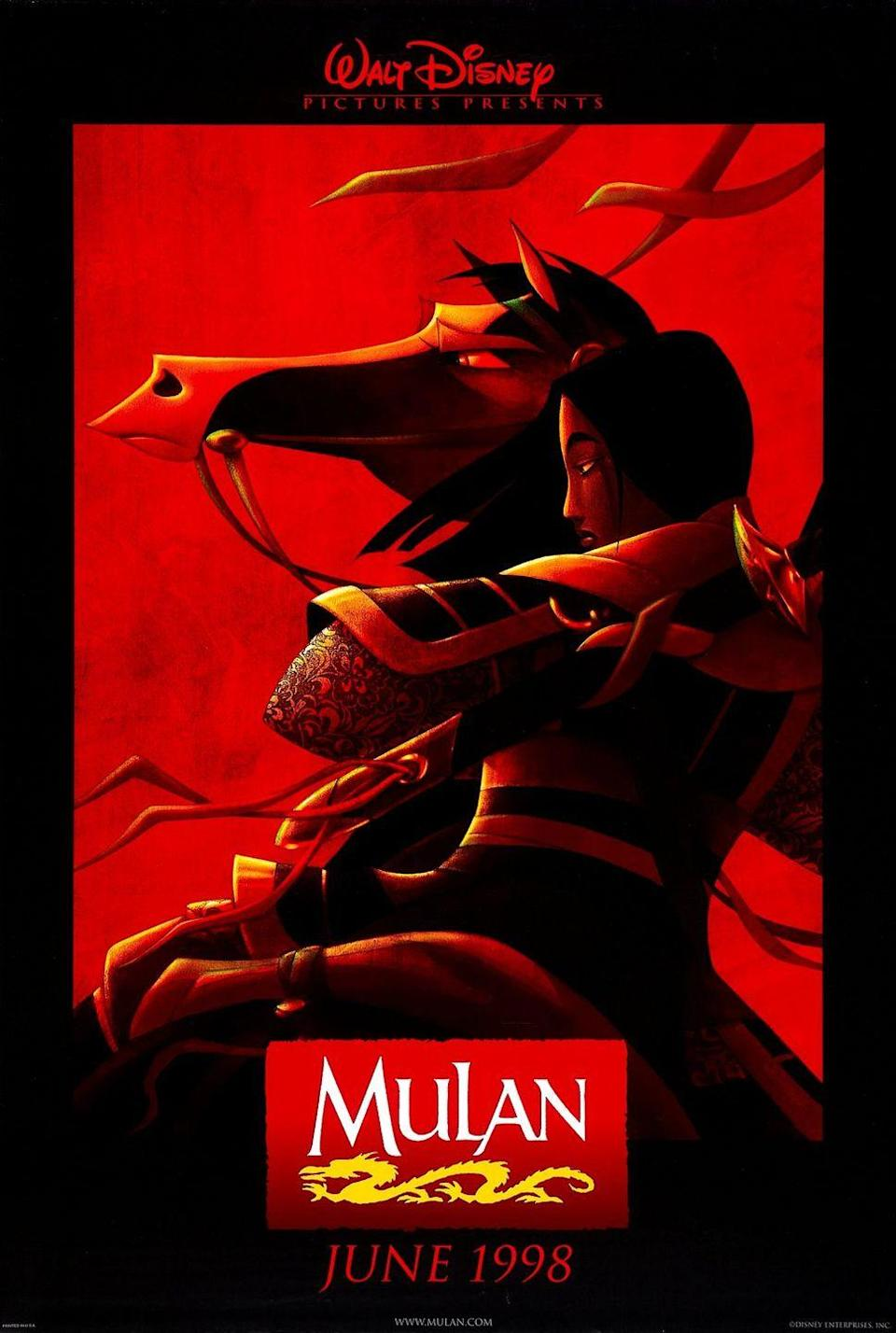 """<p>So far, fans are on the fence about the new <em>Mulan</em> remake, after finding out <a href=""""https://www.seventeen.com/celebrity/movies-tv/a45841/twitter-reactions-mulan-not-a-musical/"""" rel=""""nofollow noopener"""" target=""""_blank"""" data-ylk=""""slk:it won't be a musical and your childhood crush Li Shang won't be in it"""" class=""""link rapid-noclick-resp"""">it won't be a musical <em>and</em> your childhood crush Li Shang won't be in it</a>. It <a href=""""https://www.cosmopolitan.com/entertainment/movies/a21204751/disney-live-action-mulan-love-interest-yoson-an/"""" rel=""""nofollow noopener"""" target=""""_blank"""" data-ylk=""""slk:will NOT star a white male protagonist"""" class=""""link rapid-noclick-resp"""">will NOT star a white male protagonist</a>, as had been rumored (<em>thank god</em>), and <a href=""""https://www.seventeen.com/celebrity/movies-tv/a13978336/disney-casts-liu-yifei-as-live-action-mulan/"""" rel=""""nofollow noopener"""" target=""""_blank"""" data-ylk=""""slk:Liu Yifei will play the lead"""" class=""""link rapid-noclick-resp"""">Liu Yifei will play the lead</a>. Gong Li and Jason Scott Lee <a href=""""https://www.hollywoodreporter.com/heat-vision/disneys-mulan-adds-jason-scott-lee-1129918"""" rel=""""nofollow noopener"""" target=""""_blank"""" data-ylk=""""slk:will be playing villains"""" class=""""link rapid-noclick-resp"""">will be playing villains</a> while Donnie Yen, Yoson An, and Ron Yuan will play some of the people on Moulin's team. Jet Li, Utkatarsh Ambudkar, Xana Tang, and Chum Ehelepola round out the cast. The movie was supposed to be released in March 2020 but it got pushed back because of concerns and movie theater closes <a href=""""https://www.seventeen.com/celebrity/movies-tv/a31469986/disney-delaying-movies-coronavirus/"""" rel=""""nofollow noopener"""" target=""""_blank"""" data-ylk=""""slk:caused by the Coronavirus"""" class=""""link rapid-noclick-resp"""">caused by the Coronavirus</a>. </p><p><a class=""""link rapid-noclick-resp"""" href=""""https://www.amazon.com/dp/B003QSMCKO?tag=syn-yahoo-20&ascsubtag=%5Bartid%7C10065.g.2936%5Bsrc%7Cyahoo-us"""" rel=""""nofollow """