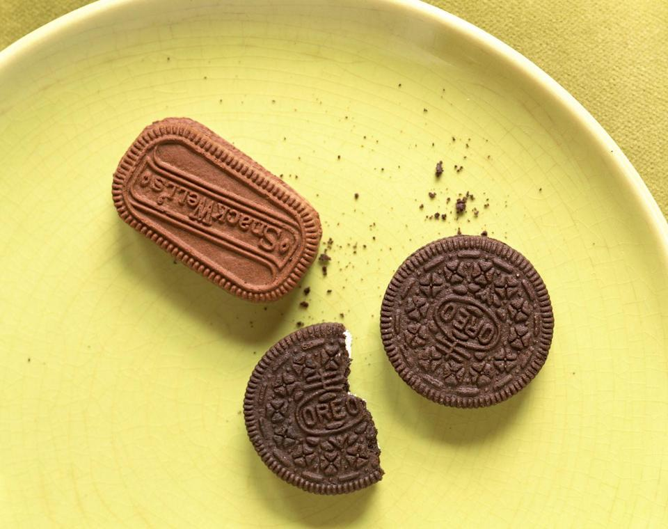 "<p>Even worse than reduced-fat is unnaturally zero-fat. ""Fat-free packaged foods were once touted as a healthy option for individuals wanting to lose weight and maintain a healthier lifestyle,"" Fisher says. No longer.</p><p>A good rule of thumb: Avoid any product that is not normally fat-free. What it doesn't have in fat, it makes up for in sugar. </p><p>""Read food labels and ingredient lists to determine many grams of sugar may have been added as a fat substitute. Many types of natural fats are healthy and <u><a href=""https://www.prevention.com/weight-loss/g20501369/eating-rules-for-faster-weight-loss/"" rel=""nofollow noopener"" target=""_blank"" data-ylk=""slk:promote satiety"" class=""link rapid-noclick-resp"">promote satiety</a></u>, which in the long run can reduce cravings and overeating,"" she continues.</p>"