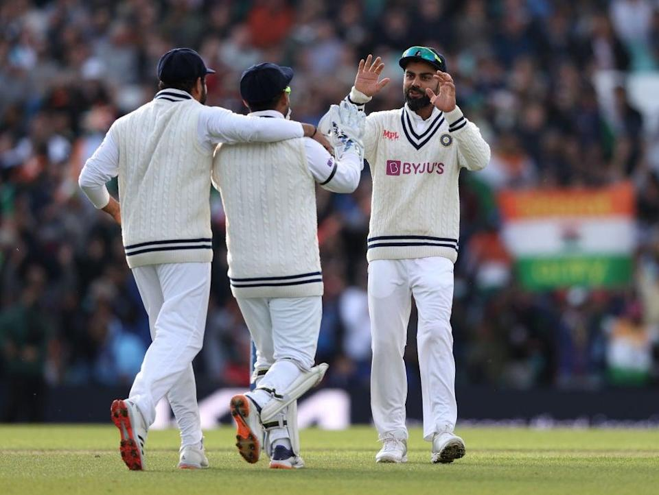 Kohli produced a 50 for the tourists (Getty Images)