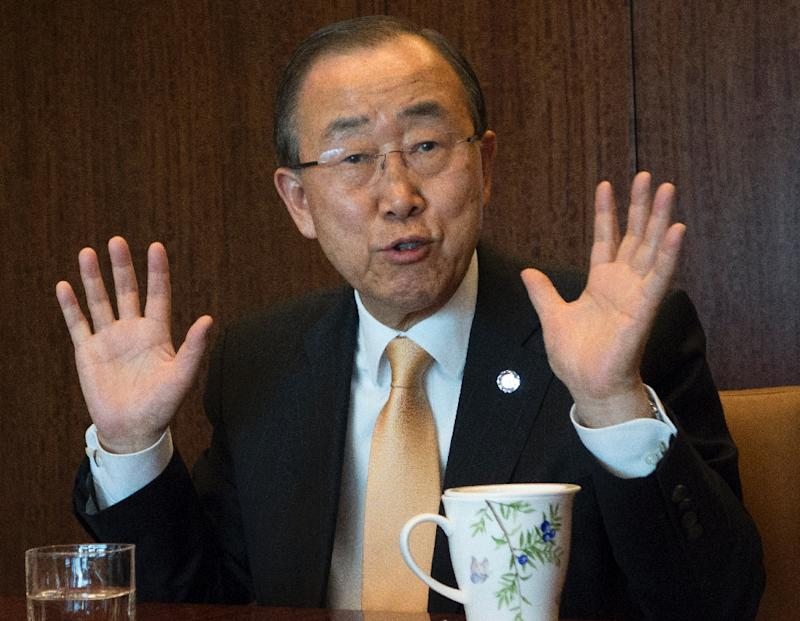 Ex-UN Chief Ban Says He Won't Run for South Korean Presidency