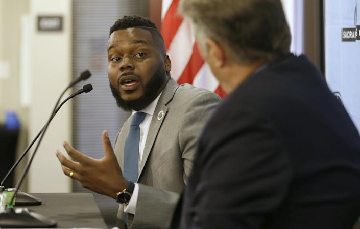 Stockton Mayor Michael Tubbs